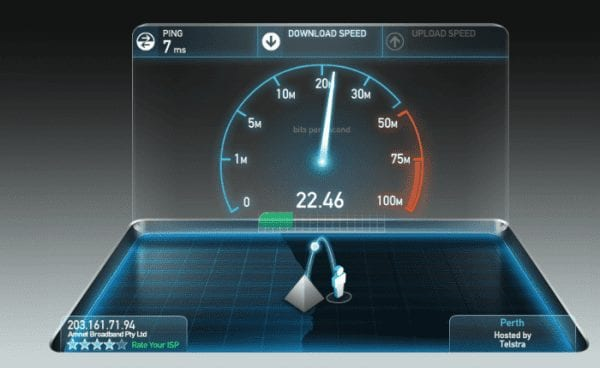 test internet speed