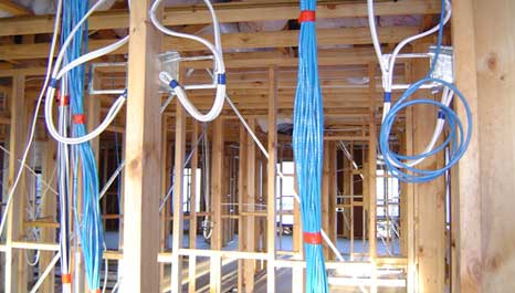 smart wiring during construction