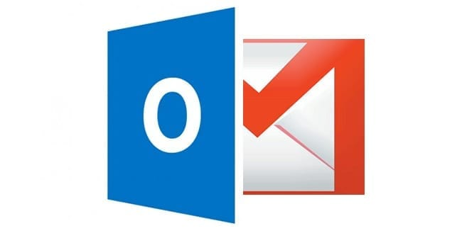 outlook v gmail