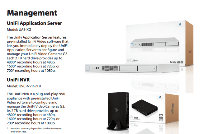 UNIFI-NVR