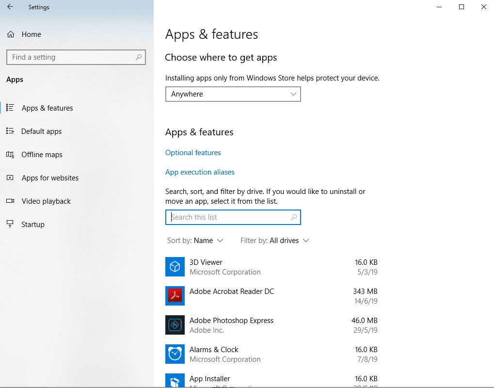 remove quicktime for windows
